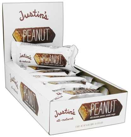 DROPPED: Justin's Nut Butter - Milk Chocolate Candy Bar Peanut - 2 oz.