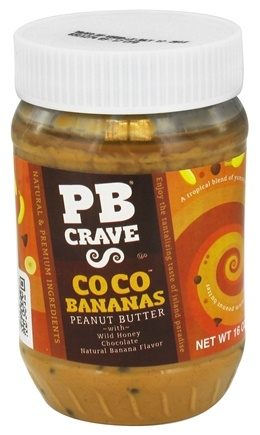 DROPPED: PB Crave - Peanut Butter Coco Bananas - 16 oz.