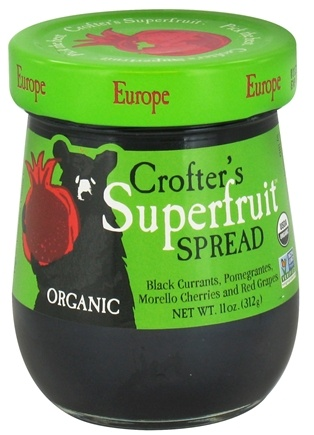 DROPPED: Crofter's Organic - Superfruit Spread Europe - 11 oz. CLEARANCE PRICED