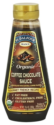 DROPPED: St. Dalfour - Organic Sauce Coffee Chocolate - 10.6 oz.