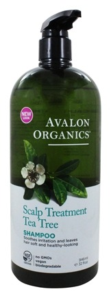 Avalon Organics - Shampoo Scalp Treatment Tea Tree - 32 oz.