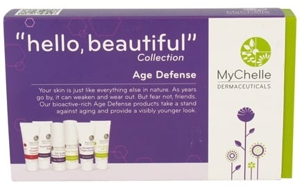 DROPPED: MyChelle Dermaceuticals - Hello Beautiful Trial Set Collection Age Defense