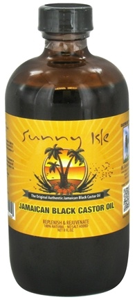 DROPPED: Sunny Isle - Jamaican Black Castor Oil - 8 oz. CLEARANCE PRICED