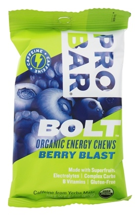Pro Bar - Bolt Organic Energy Chews Berry Blast - 2.1 oz.