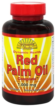 DROPPED: Dynamic Health - Red Palm Oil Complete 1000 mg. - 90 Softgels