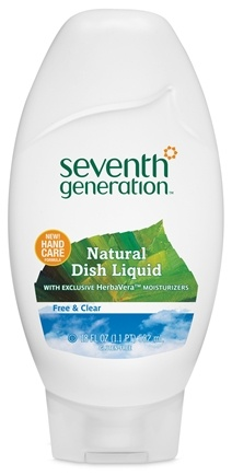 DROPPED: Seventh Generation - Natural Dish Liquid Free & Clear - 18 oz. CLEARANCE PRICED