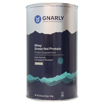 Gnarly Nutrition - Whey Protein Grass Fed Vicious Vanilla - 32 oz.
