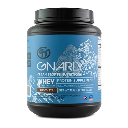 Gnarly Nutrition - Whey Protein Grass Fed Chiseled Chocolate - 32 oz.