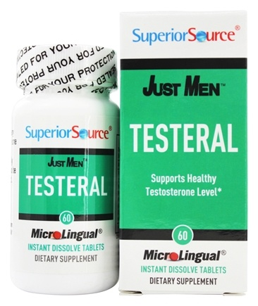 DROPPED: Superior Source - Just Men Testeral - 60 Tablet(s)