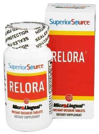 DROPPED: Superior Source - Relora - 120 Tablet(s) CLEARANCE PRICED