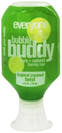 DROPPED: EO Products - Everyone for Kids Bubble Buddy Foaming Soap Tropical Coconut Twist - 4 oz.