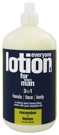 EO Products - Everyone Lotion for Men Cucumber & Lemon - 32 oz.
