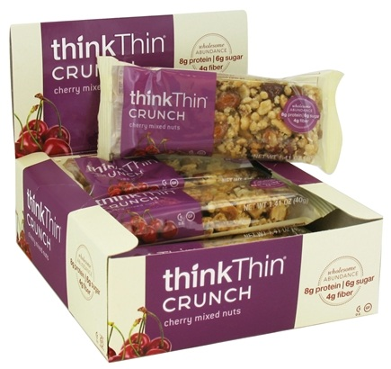 DROPPED: Think Products - thinkThin Crunch Bar Cherry Mixed Nuts - 1.41 oz.