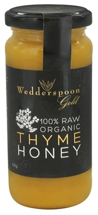 DROPPED: Wedderspoon - 100% Raw Organic Thyme Honey - 11.46 oz.