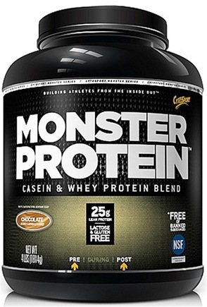 DROPPED: Cytosport - Monster Protein Casein & Whey Blend Chocolate - 4 lbs.