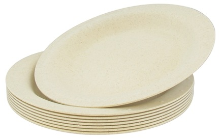 Zoom View - Compostable Disposable Plates 10""