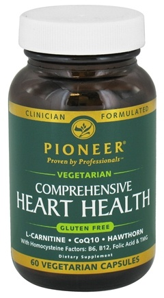 DROPPED: Pioneer - Comprehensive Heart Health Vegetarian - 60 Vegetarian Capsules CLEARANCED PRICED