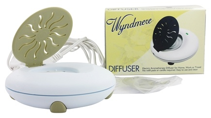 Wyndmere Naturals - Aromatherapy Diffuser Electric 1.5 in. x 5 in. Sand