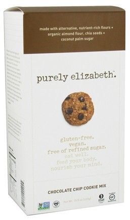 DROPPED: Purely Elizabeth - Cookie Mix Chocolate Chip - 15.5 oz.