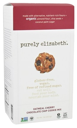 DROPPED: Purely Elizabeth - Cookie Mix Oatmeal Cherry Chocolate Chip - 1 lb.