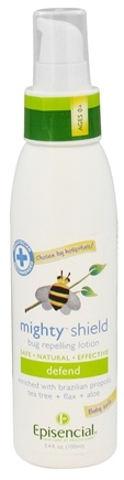 DROPPED: Episencial - Babytime! Mighty Shield Bug Repelling Lotion - 3.4 oz. CLEARANCED PRICED