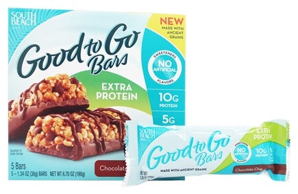 DROPPED: South Beach Diet - Good To Go Bars Chocolate - 5 Bars
