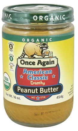 DROPPED: Once Again - Organic American Classic Peanut Butter Crunchy - 16 oz.