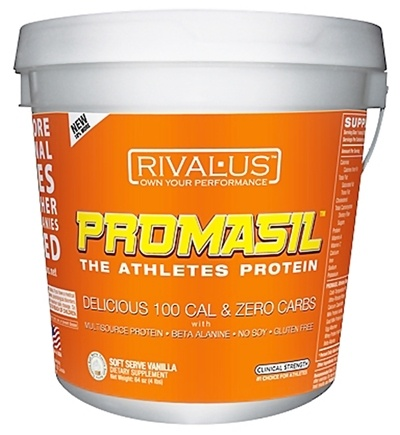 DROPPED: Rivalus - Promasil Soft Serve Vanilla - 4 lbs.