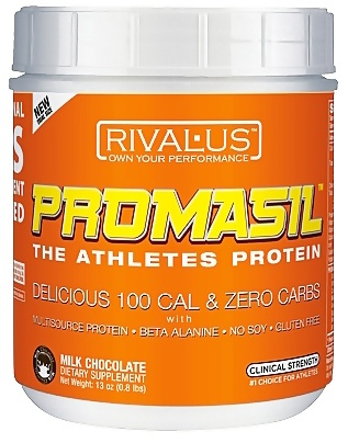 DROPPED: Rivalus - Promasil Milk Chocolate - 375 Grams