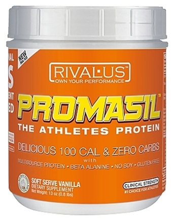 DROPPED: Rivalus - Promasil Soft Serve Vanilla - 375 Grams
