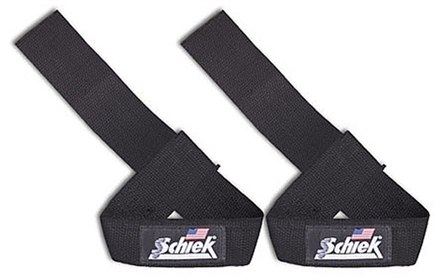 DROPPED: Schiek Sports - Basic Padded Lifting Straps - 1 Pair