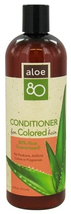 DROPPED: Lily Of The Desert - Aloe 80 Conditioner for Colored Treated Hair - 16 oz.