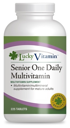 DROPPED: LuckyVitamin - One Daily Senior Multivitamin - 225 Tablets CLEARANCE PRICED