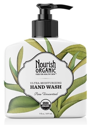 DROPPED: Nourish - Organic Hand Wash Pure Unscented - 7 oz.