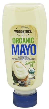 DROPPED: Woodstock Farms - Organic Mayonnaise - Squeezable - 11.25 oz.