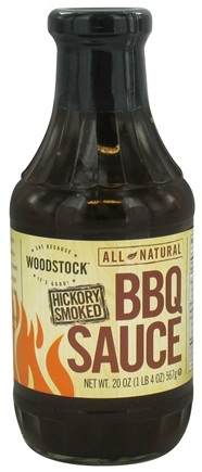 DROPPED: Woodstock Farms - All-Natural Hickory Smoked BBQ Sauce - 20 oz.