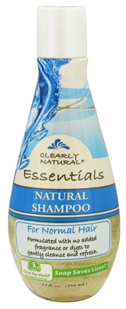 DROPPED: Clearly Natural - Shampoo Natural For Normal Hair - 12 oz. CLEARANCE PRICED