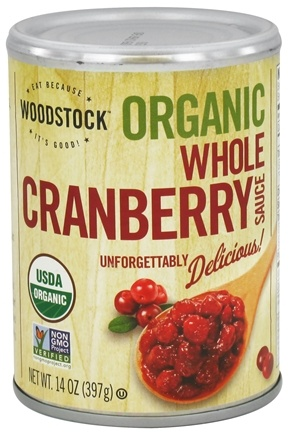 DROPPED: Woodstock Farms - Organic Whole Cranberry Sauce - 14 oz.