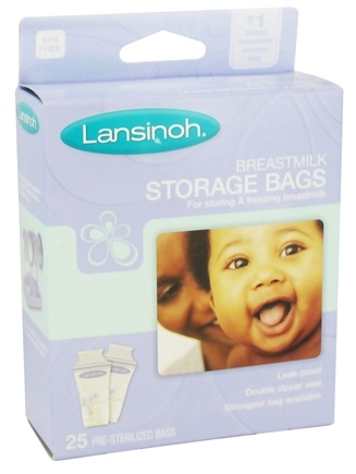 DROPPED: Lansinoh - Breastmilk Storage Bags - 25 Bags
