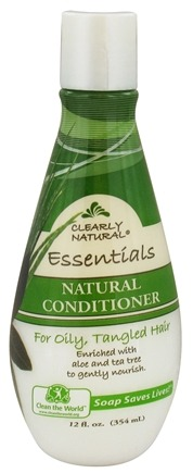 DROPPED: Clearly Natural - Conditioner Natural For Oily, Tangled Hair - 12 oz. CLEARANCED PRICED