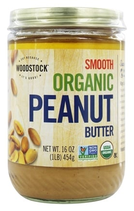Woodstock Farms - Organic Peanut Butter Smooth - 16 oz.