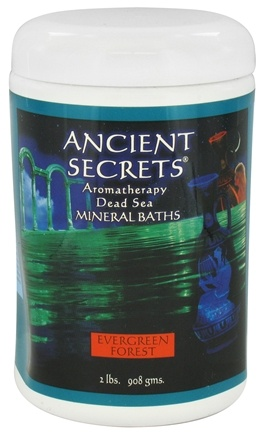 DROPPED: Ancient Secrets - Aromatherapy Dead Sea Mineral Bath Evergreen Forest - 2 lbs.