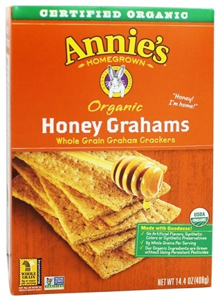 Annie's - Organic Honey Grahams - 14.4 oz.