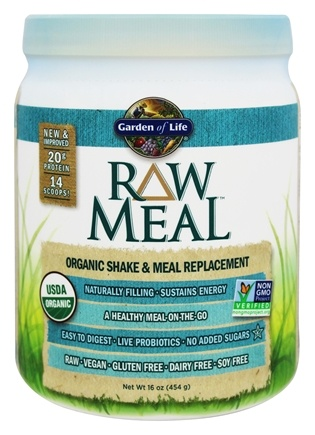 Garden of Life - RAW Meal Organic Shake & Meal Replacement Original - 16 oz.