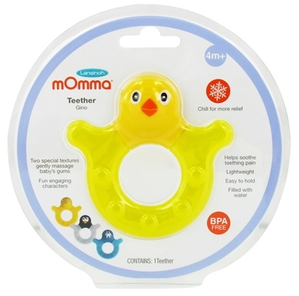 DROPPED: Lansinoh - mOmma Teether Gino the Chick - CLEARANCED PRICED