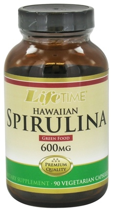 DROPPED: LifeTime Vitamins - Hawaiian Spirulina 600 mg. - 90 Vegetarian Capsules CLEARANCE PRICED