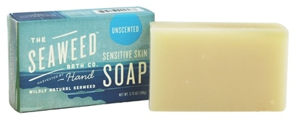 DROPPED: The Seaweed Bath Co. - Wildly Natural Seaweed Sensitive Skin Soap Unscented - 3.75 oz.