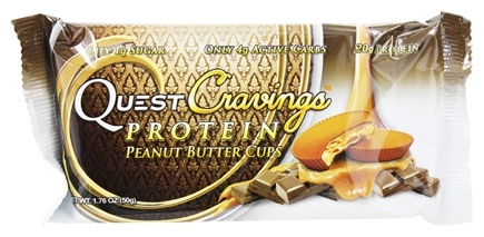 Quest Nutrition - Quest Cravings Protein Peanut Butter Cups - 1.76 oz.