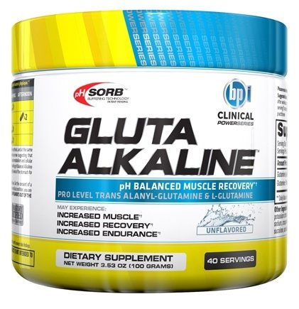 DROPPED: BPI Sports - Clinical PowerSeries Gluta Alkaline Unflavored 40 Servings - 3.53 oz. CLEARANCED PRICED