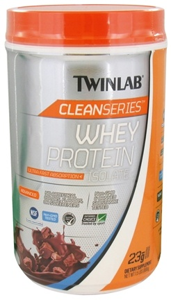 DROPPED: Twinlab - Clean Series Whey Protein Isolate Chocolate Flavored Perfection - 1.5 lbs.